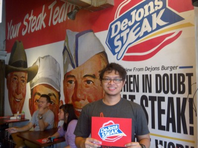 soft opening dejons Steak Januari 2013