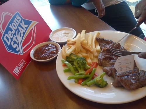 dejons steak tebet