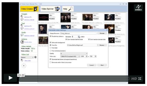 software pembuat video youtube massal