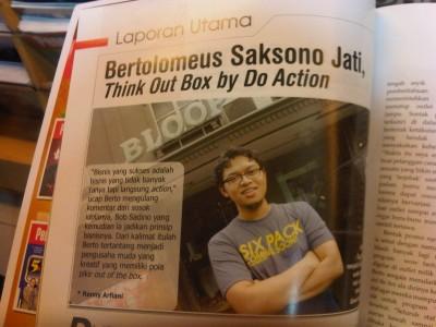 Berto @Majalah Pengusaha