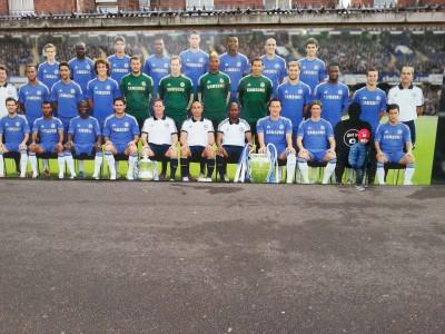 Anak Saya Milan @ Stamford Bridge Chelsea