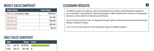 PEnghasilan clickbank 1 hari