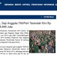 gaji tni indonesia