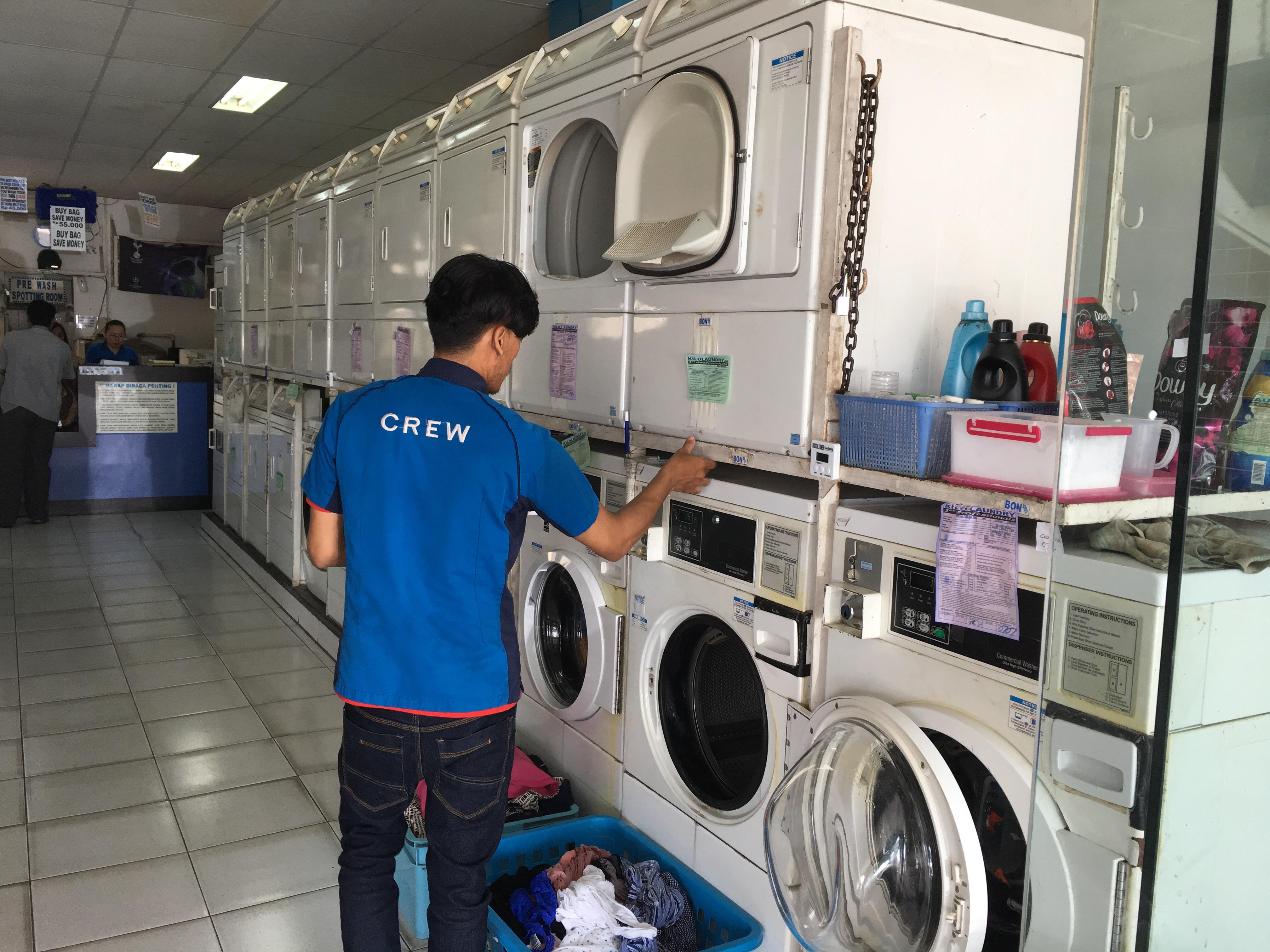 Tempat Laundry Kiloan Bintaro Sektor 3A